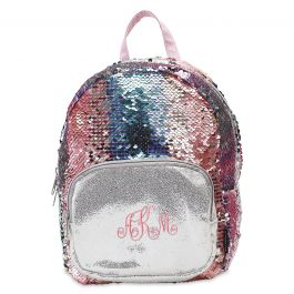 Personalized Magic Sequins Mini Backpack - Monogram
