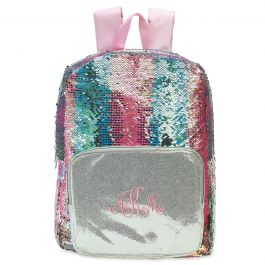 Personalized Magic Sequins Backpack - Monogram