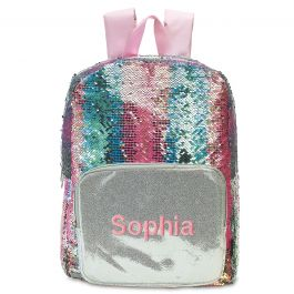 Personalized Magic Sequins Backpack - Name