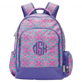 Personalized Lila Backpack - Monogram