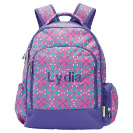 Personalized Lila Backpack - Name