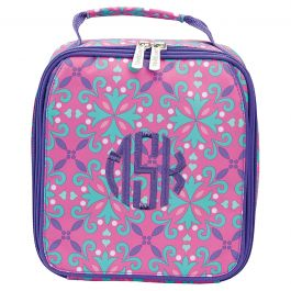 Personalized Lila Lunch Tote - Monogram