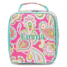Personalized Lizzie Lunch Bag - Name
