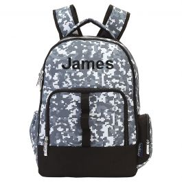 Personalized Digital Camo Backpack - Name