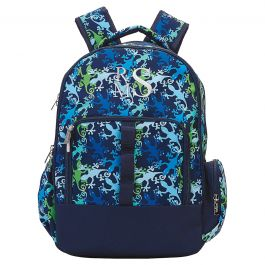 Personalized Gecko Backpack - Monogram