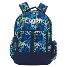 Personalized Gecko Backpack -  Name