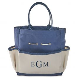 Personalized Garden Tote with Tools - Monogram