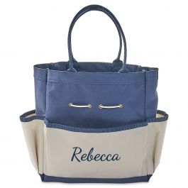 Personalized Garden Tote with Tools - Name