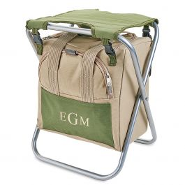 Personalized Garden Seat Foldable with Tools - Monogram