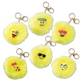 Emoji Keychains Lillian Vernon