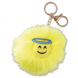 Angel Emoji Keychain