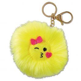 Kiss Emojicon Keychain