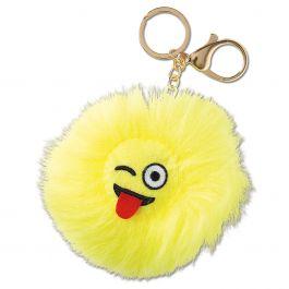 Wink Emoji Keychain