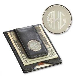 Leather Wallet Amp Money Clip Lillian Vernon