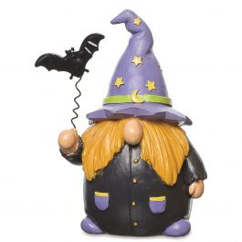 Resin Gnome Witches - Stars Hat