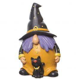 Resin Gnome Witches - Dots Hat