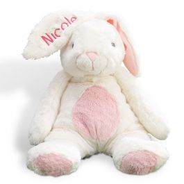 Pink Ultra-Plush Personalized My First Bunny