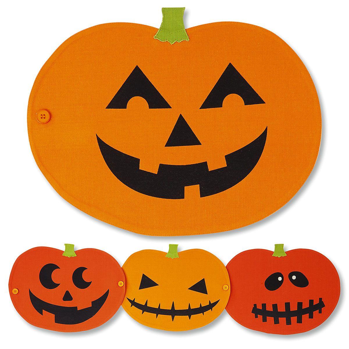 Pumpkin Place Mats/Table Runner