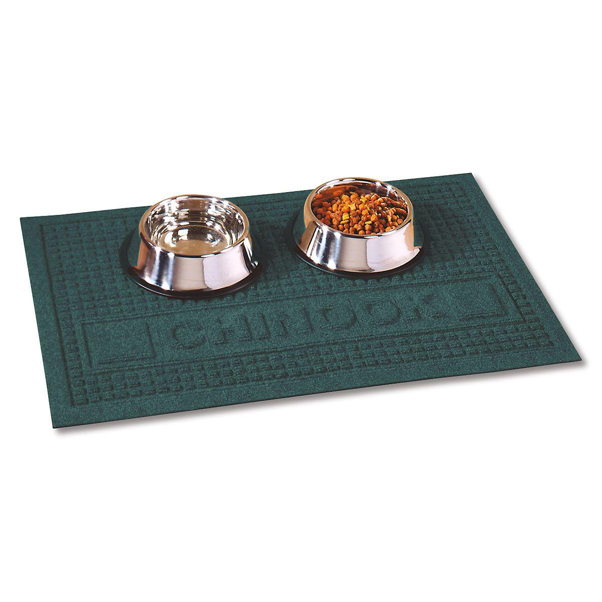 Textured Pet Dining Mat-Evergreen-2L094A