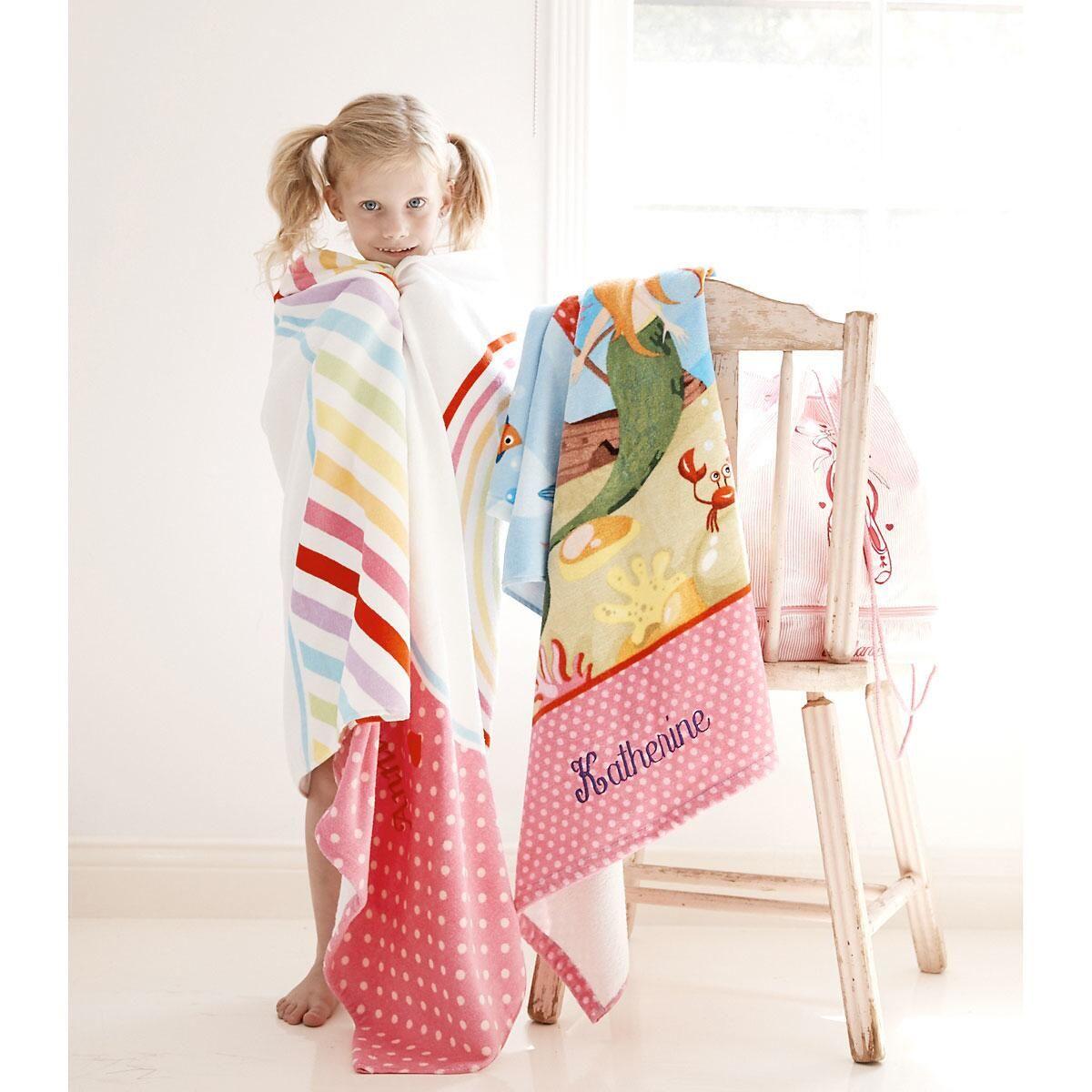 Rainbow Towel by Designer Maureen Anders