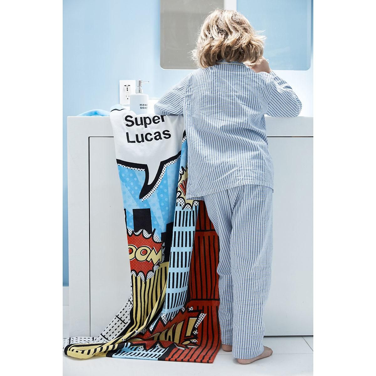 Super Hero Towel by Designer Maureen Anders