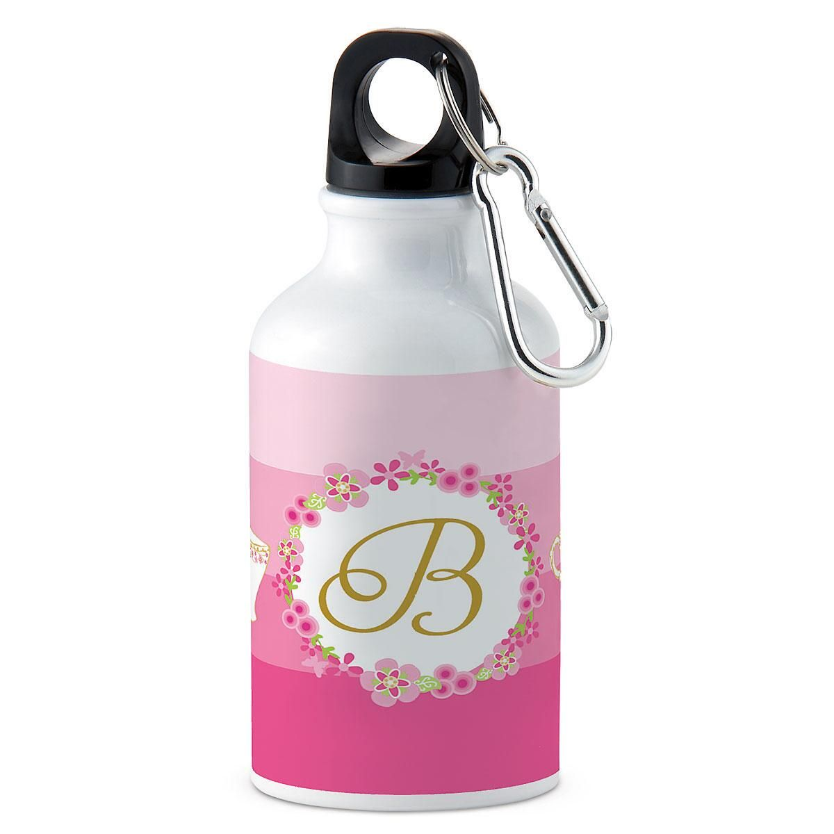 Tea Party Personalized Water Bottle