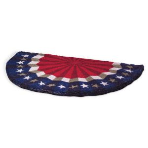 Bunting Patriotic Doormat