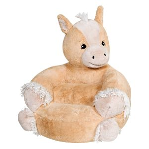 Children's Pony Plush Character Chair