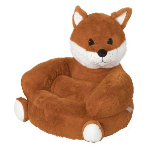 Children's Fox Plush Character Chair
