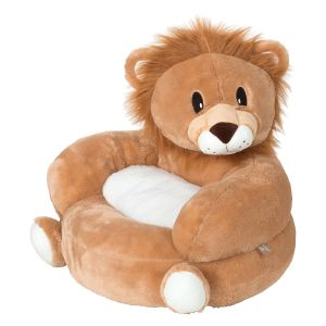 Children's Lion Plush Character Chair