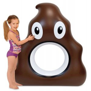 Poop Emoji Pool Float