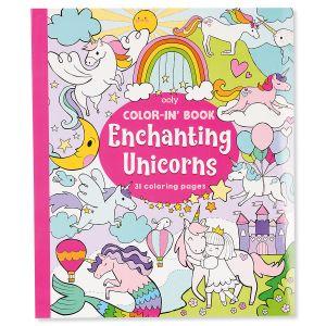 Enchanting Unicorn Coloring Book