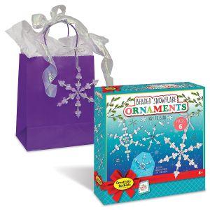 Beaded Snowflake Ornaments Kit