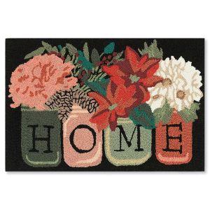 Holiday Home Black Doormats
