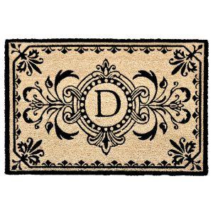 Dwell Coir Initial 18x30 Doormat
