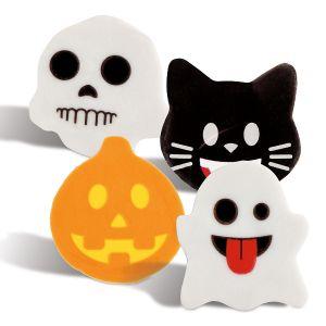Halloween Emoji Erasers