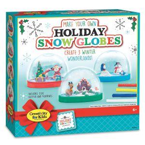 DIY Holiday Snow Globes