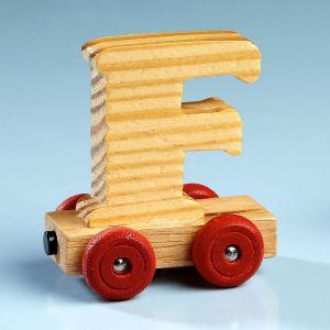 Letter Car - F