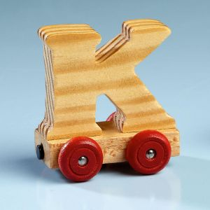 Letter Car - K