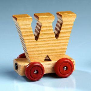 Letter Car - W