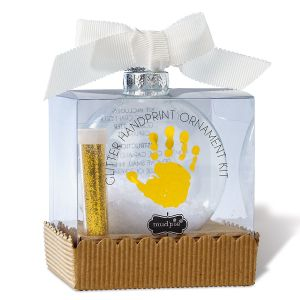 Glitter Hand-Print Ornaments Kit