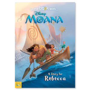 Disney Moana Personalized Storybook