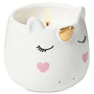 Ceramic Unicorn Candle