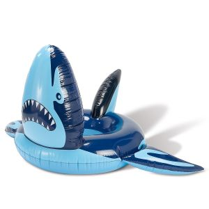 Giant Shark Pool Float