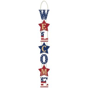 Americana Welcome Sign