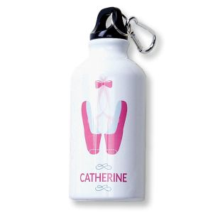 Ballerina Water Bottle by Designer Maureen Anders