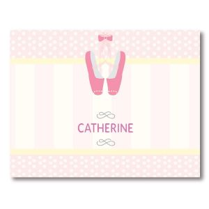 Ballerina Note Cards by Designer Maureen Anders