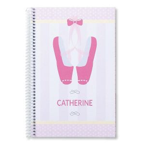 Ballerina Notebook by Designer Maureen Anders