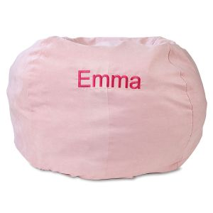 Pink Personalized Bean Bag Chair