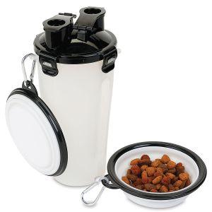 Doggie Duo Portable Pet Food Storage System